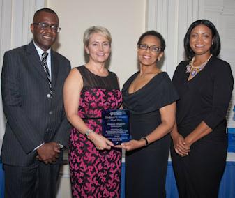 Delaney Partners Attorneys Honoured Bahamas Financial Services Industry Awards Pamela Klonaris