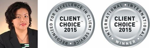 Client Choice Awards Winners 2015 Delaney Partners Samantha