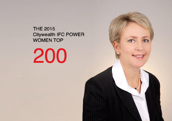 Pamela l Klonaris Citywealth IFC Power Women Top 200 List 2015